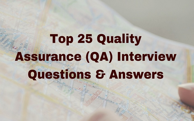 QA Interview Questions & Answers
