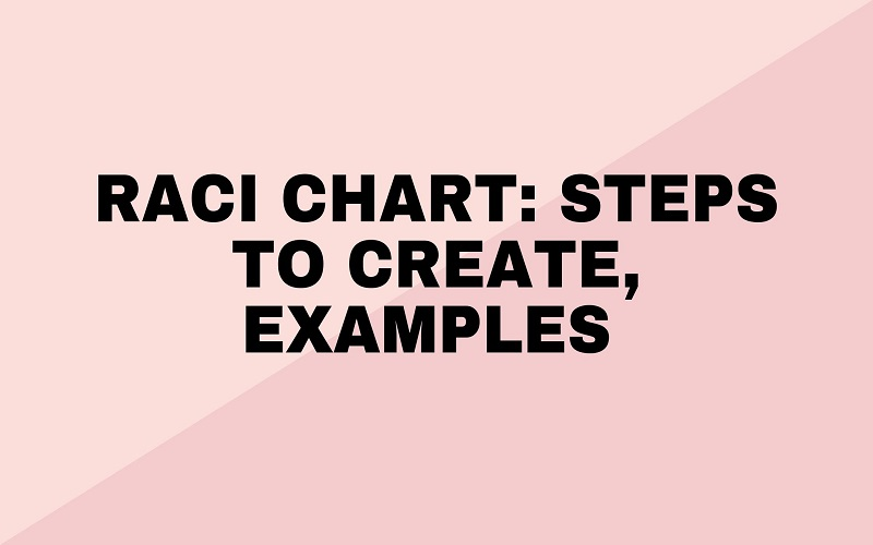 RACI Chart: Steps to Create, Examples