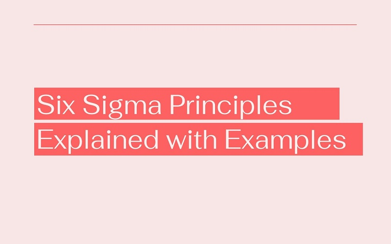 Six Sigma Principles Explained with Examples