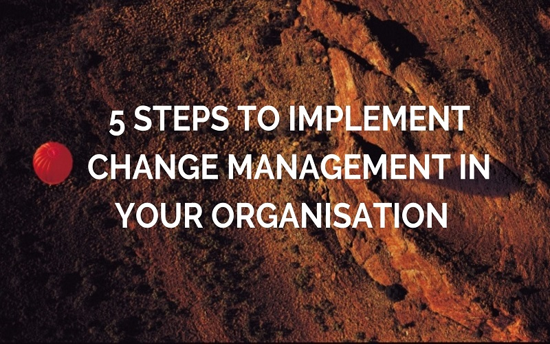 Steps to Implement Change Management in Your Organisation