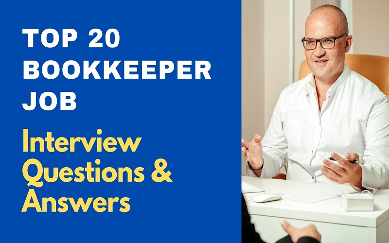 Bookkeeper Job Interview Questions and Answers
