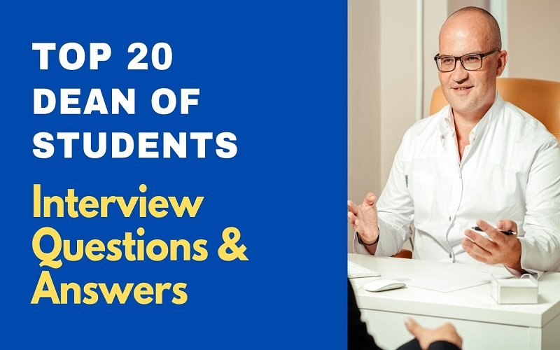 Dean of Students Interview Questions and Answers