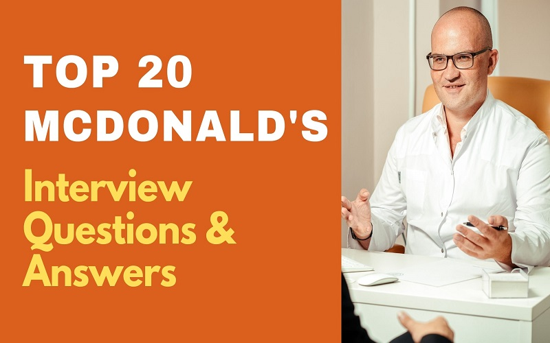 McDonald's Interview Questions & Answers