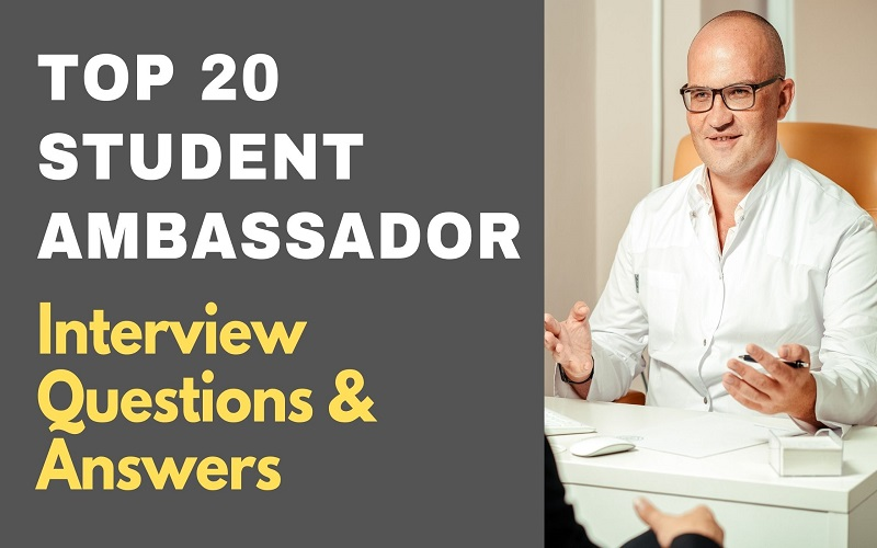 Student Ambassador Interview Questions & Answers