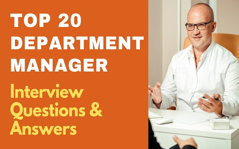 Department Manager Interview Questions & Answers