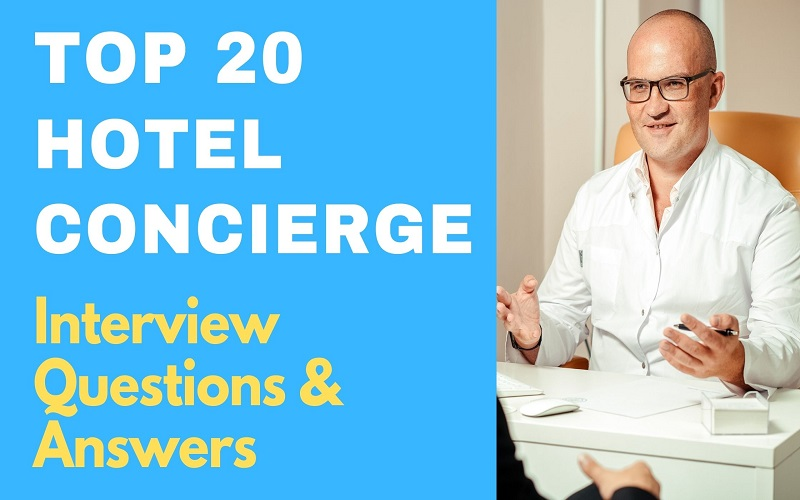 Hotel Concierge Interview Questions & Answers